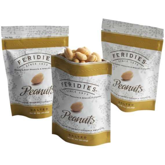 3oz Salted Virginia Peanuts