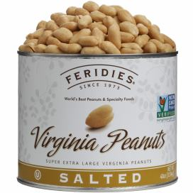 40oz Salted Virginia Peanuts