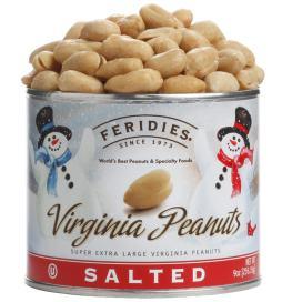 9oz Salted Peanuts-Snowmen
