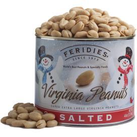 40oz Salted Peanuts - Snowmen