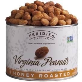 18oz Honey Roasted Virginia Peanuts