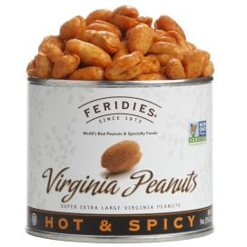 9oz Hot & Spicy Virginia Peanuts