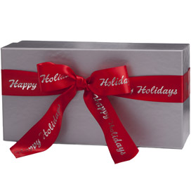 Create My Own Silver Gift Box