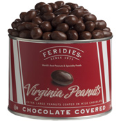 26oz Milk Chocolate Virginia Peanuts-Red Striped - Single Can