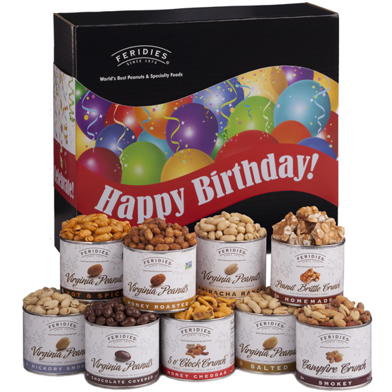 Ultimate Assortment/Happy Birthday Band, All Nut Gifts ... Multimate Assortiment