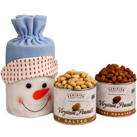 Snowman Snack Bag-New